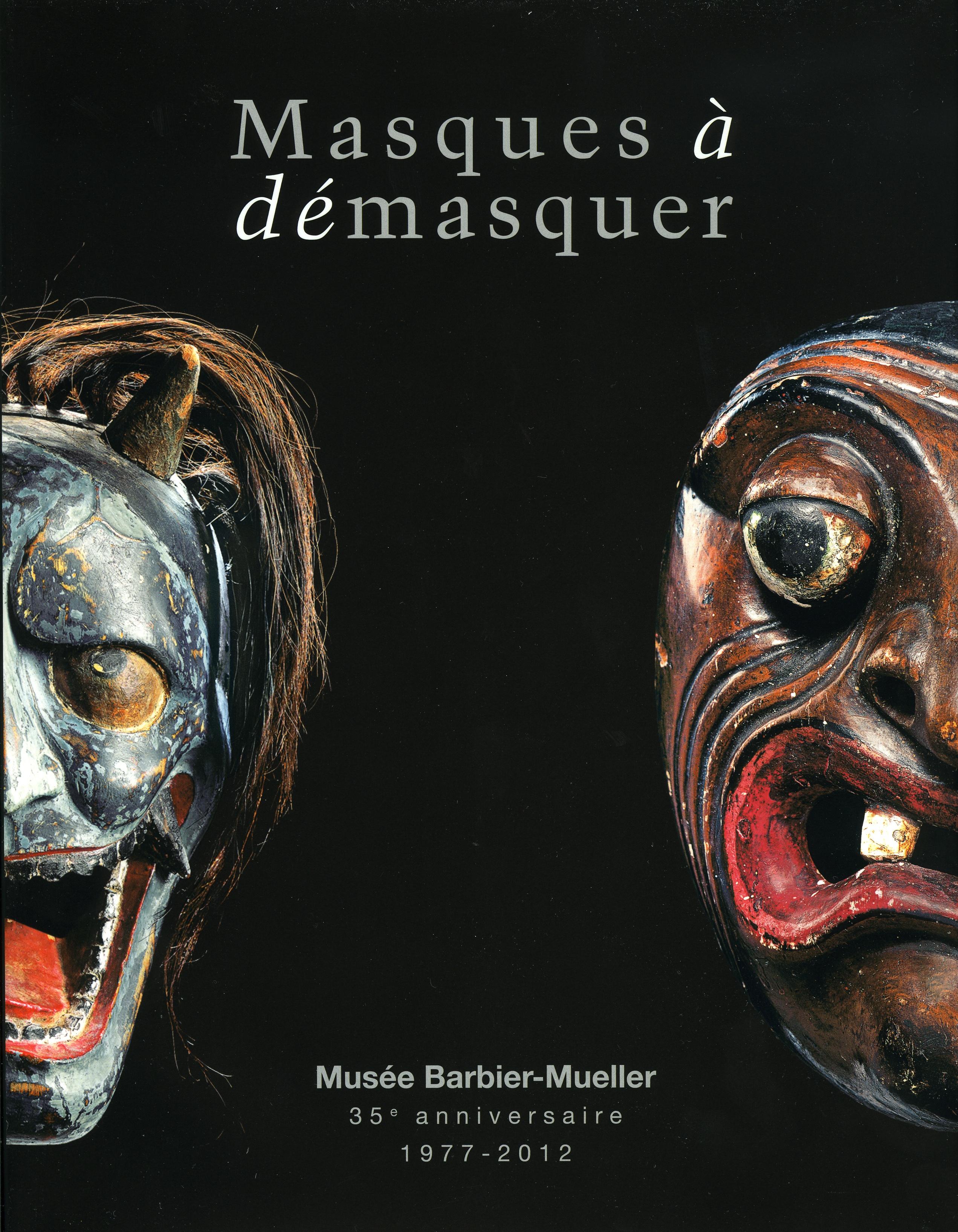 Livre Masques à démasquer